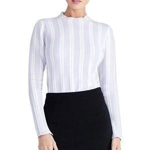 Rachel Roy Mock Neck Sweater